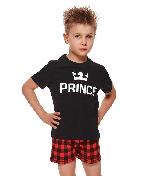 Doctor Nap Pyjama voor jongens Prince Zwart Kort PDB.4263