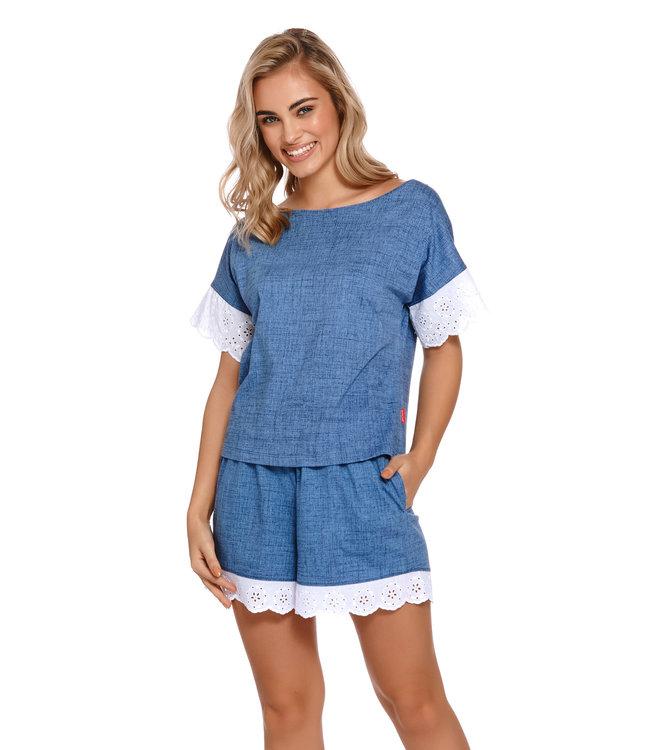 Doctor Nap Pyjama Jeans Kort PM.4205