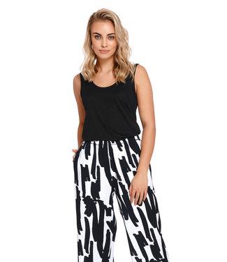 Pyjama Bamboo/Modal Zwart SHI.4208 SPO.4209