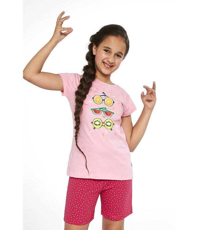 Cornette Pyjama voor meisjes Fruit Roze 788/74