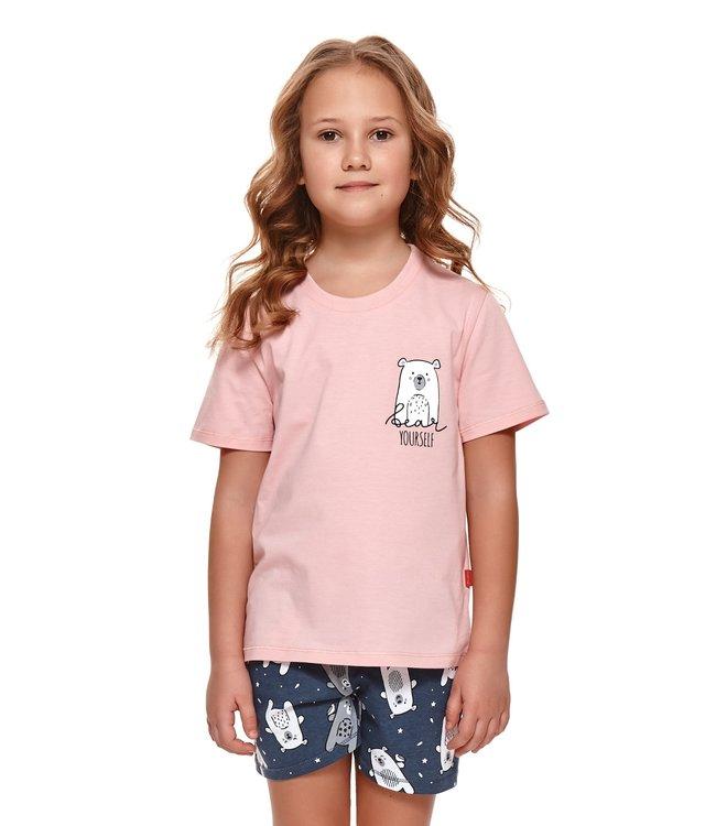 Doctor Nap Pyjama voor kinderen Bear Yourself Sweet Pink PDU.4266