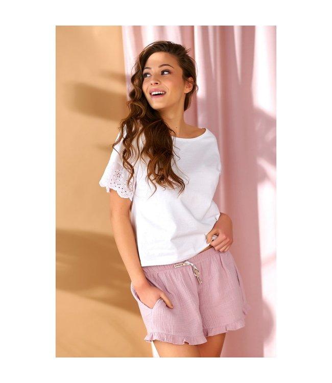 Doctor Nap Pyjama Mousseline Flamingo SHI.9906 SHO.9905
