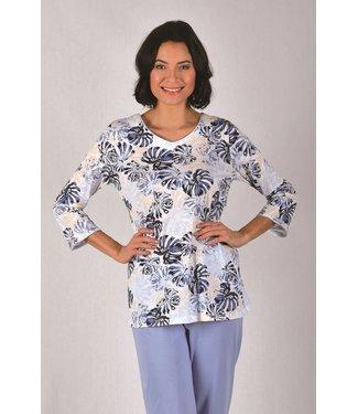 Cybele Pyjama Plus Size Ecru 7-810541