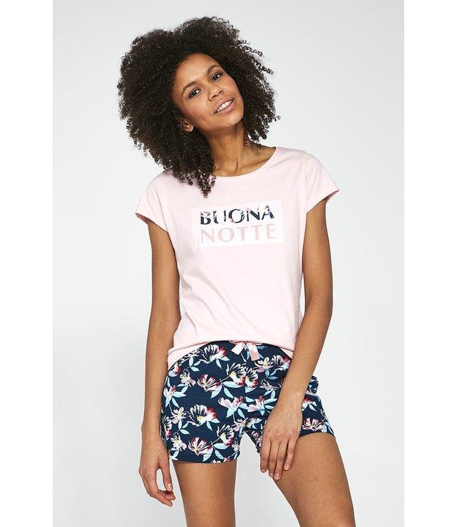 Cornette Pyjama voor dames (3-delig set) Buona Notte 388/244