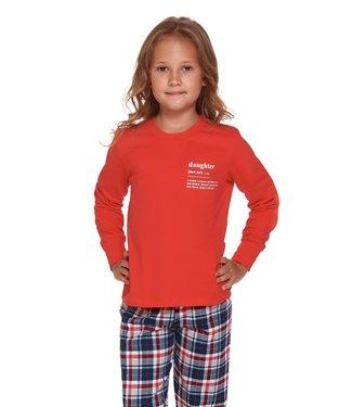 Doctor Nap Pyjama voor meisjes Daughter Rood PDU.4343