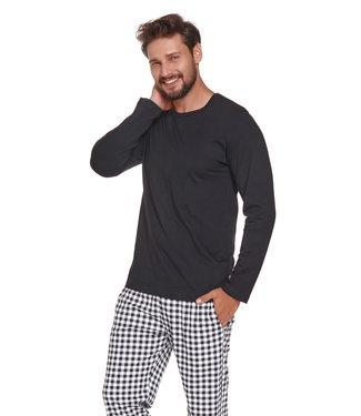 Doctor Nap Pyjama voor heren Zwart PMB.4330