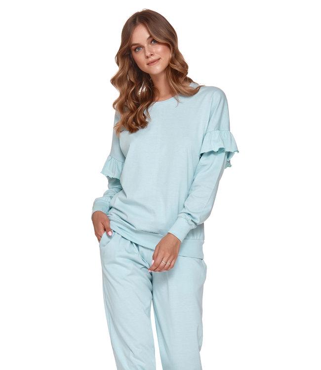 Doctor Nap Pyjama voor dames Frullen Pool Blue PM.4351