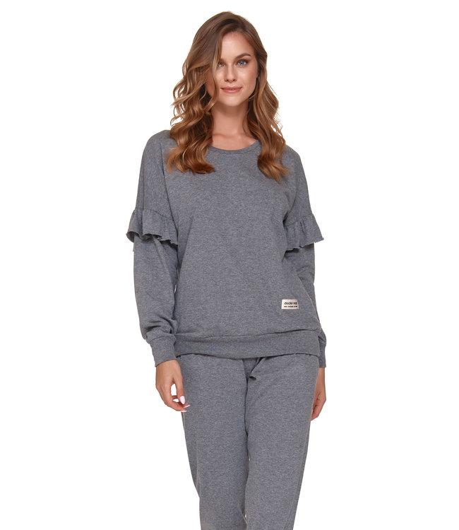 Doctor Nap Pyjama voor dames Frullen Dark Grey PM.4351