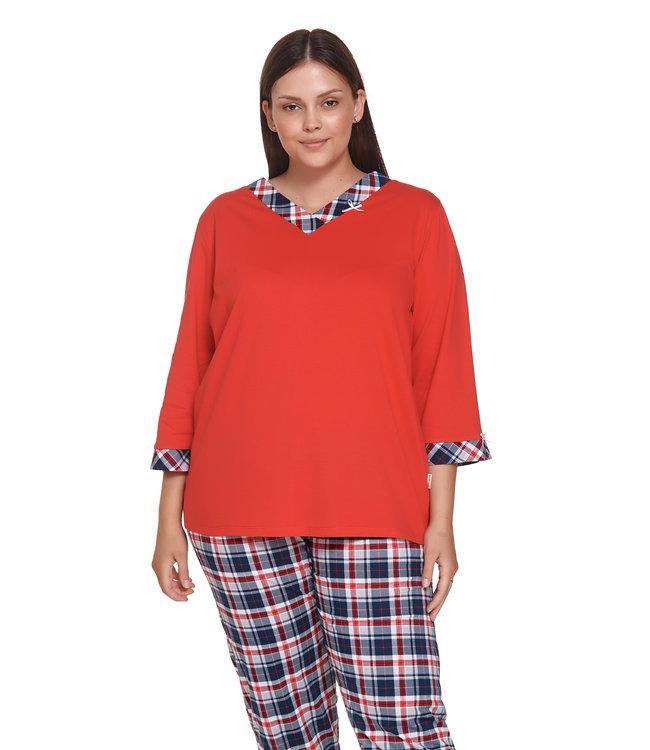 Doctor Nap Pyjama Plus Size Red PB.4365