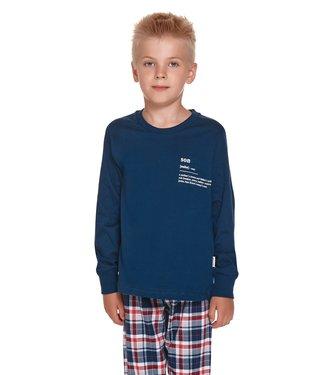 Doctor Nap Pyjama voor jongens Son Donker Blauw PDU.4343