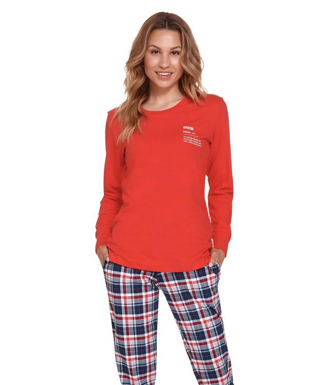 Doctor Nap Pyjama Mom Rood PM.4363