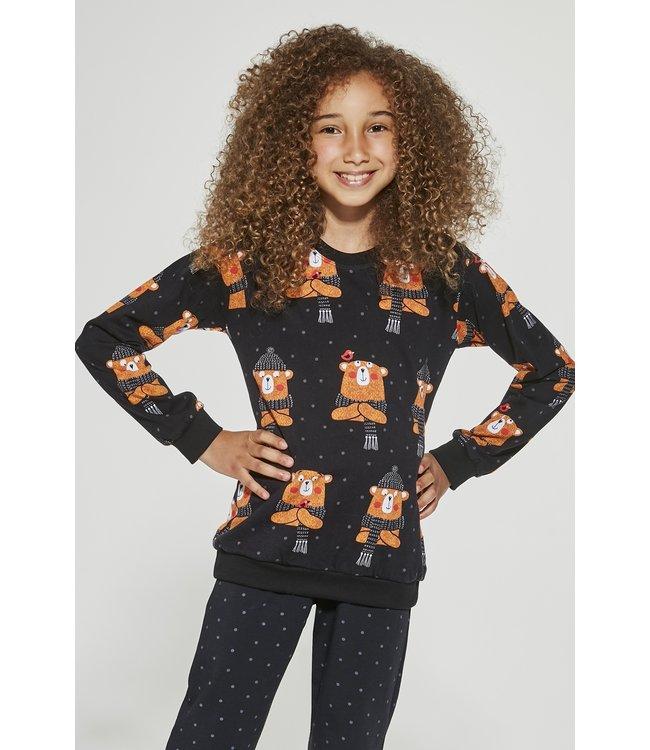 Cornette Pyjama voor meisjes Bear 996/148 997/148