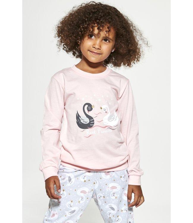 Cornette Pyjama voor meisjes Swan 2 387/143 390/164