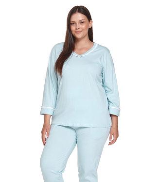Doctor Nap Pyjama Plus Size Pool Blue PB.4389