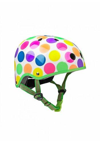 Micro helmet neon dots