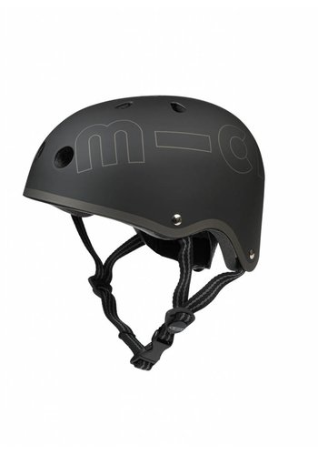 Micro helm Classic mat Zwart