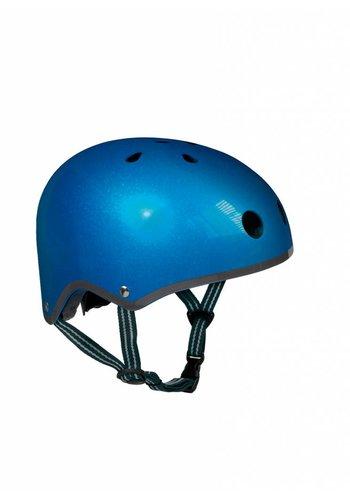 Micro helmet dark blue metallic