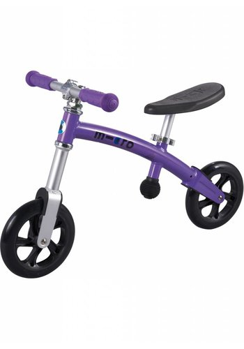 Micro G-bike+ Light balance bike Purple