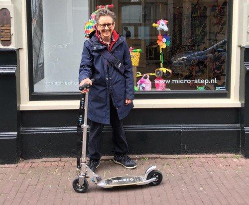 Ouderen blijven fitter door te steppen