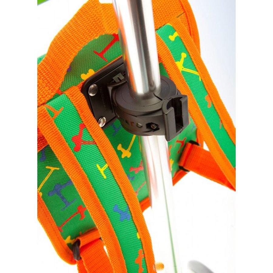 Mini Micro backpack green/orange
