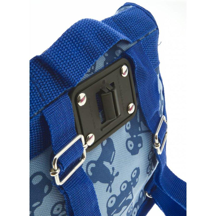Mini Micro rugzak print blauw