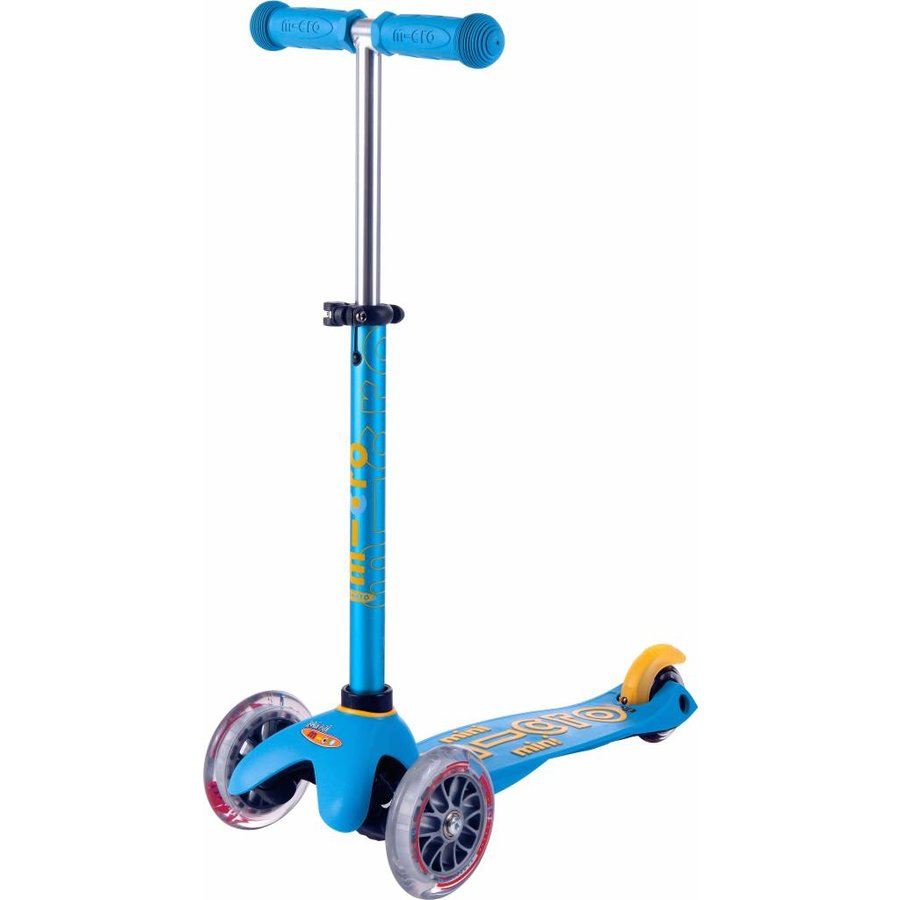 Mini Micro scooter Deluxe Ocean Blue