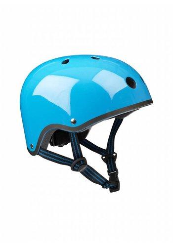 Micro helm neon blauw