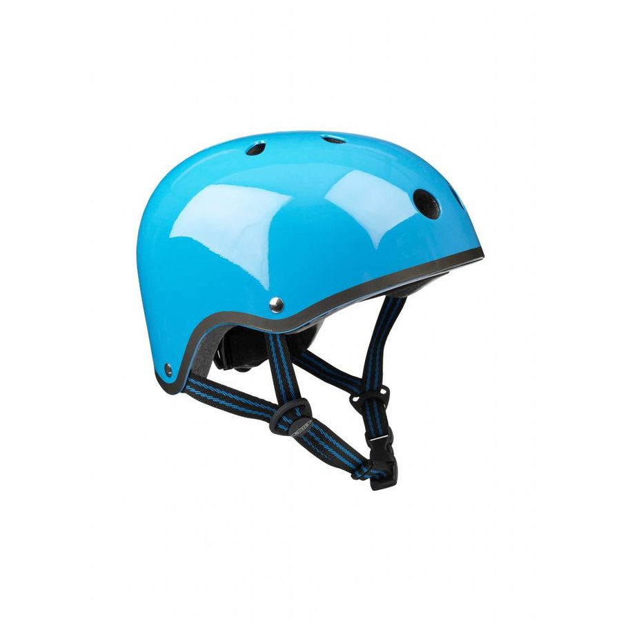 Micro helm Classic neon Blauw