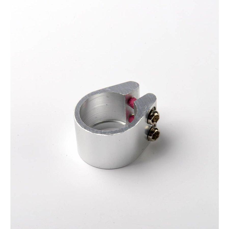 Stuurklem 2-wiel step - zilver (1026)
