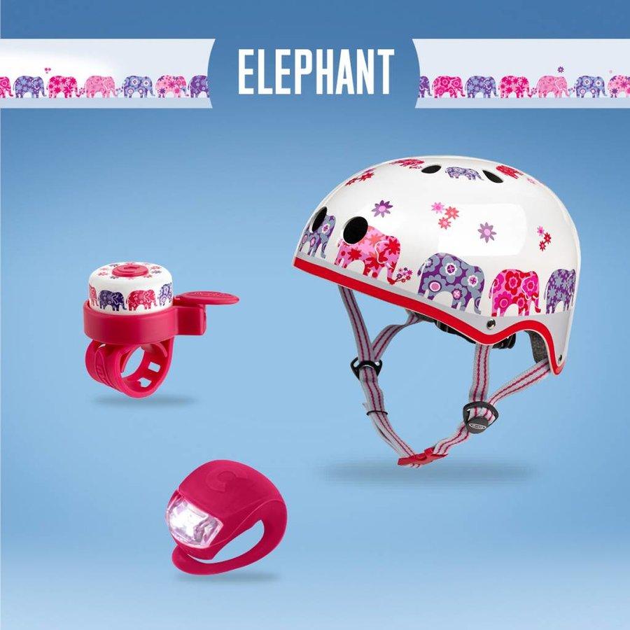 Micro safety set Olifanten helm/bel/lampje