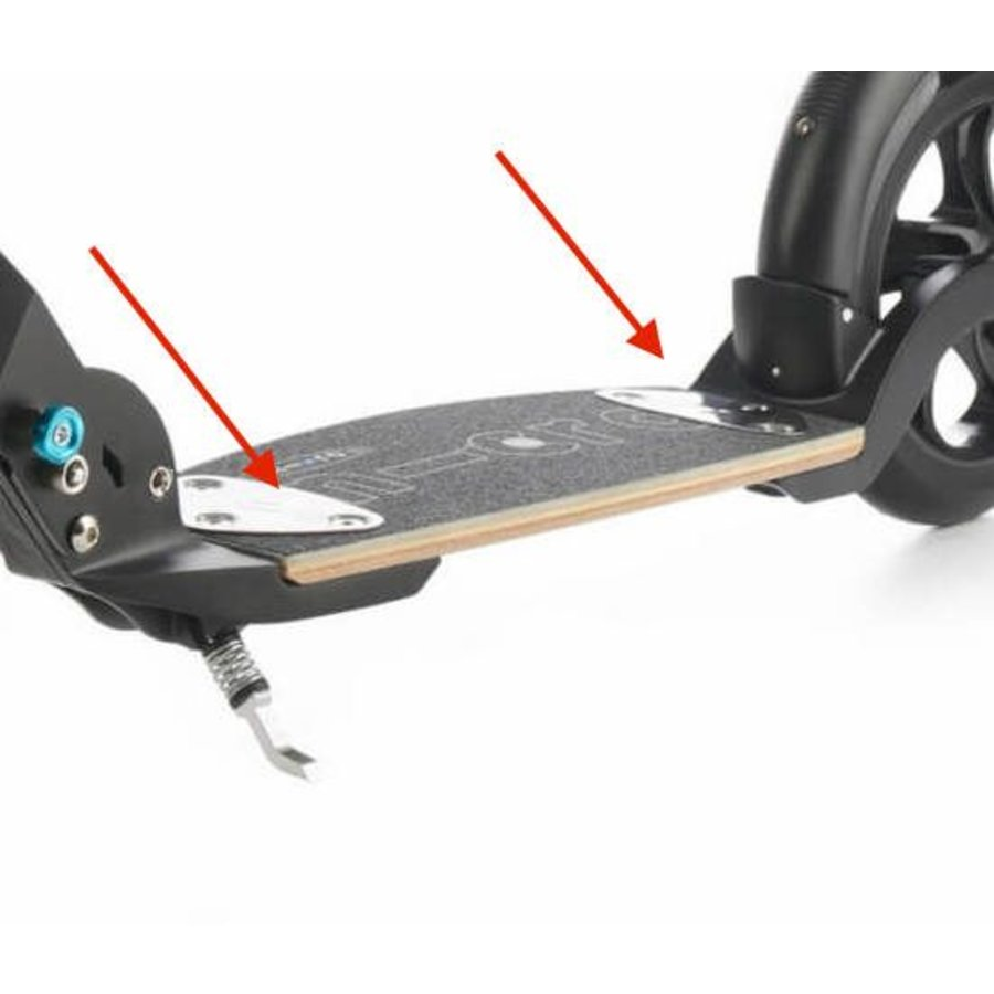Board fixation plate for Flex deck (1033)