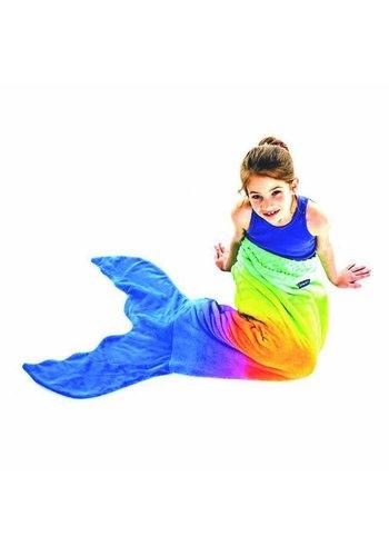 Blankie Tails zeemeermin deken regenboog