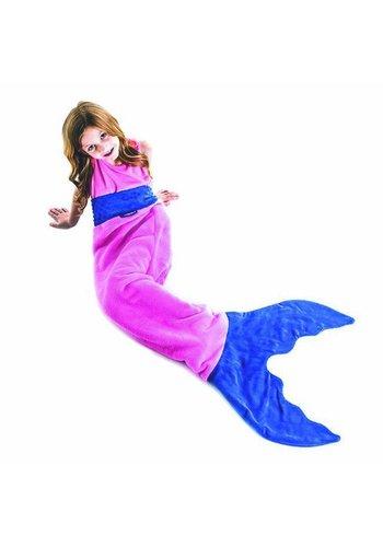 Blankie Tails meermaid blanket Pink/Blue