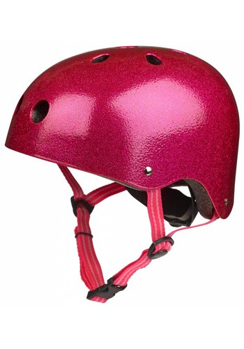 Micro helm Classic Roze glitter
