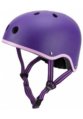 Micro helmet matt purple