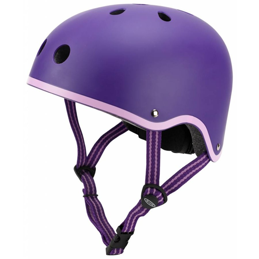 Micro helm Classic mat Paars