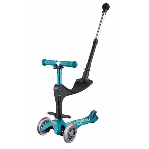 Mini Micro step 3in1 Deluxe Push ijsblauw