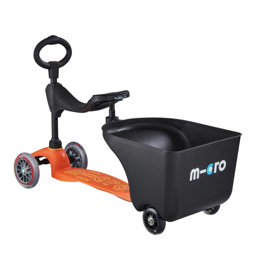 Trailer for Mini 3in1 scooter, Mini2go scooter and G-bike balance bike