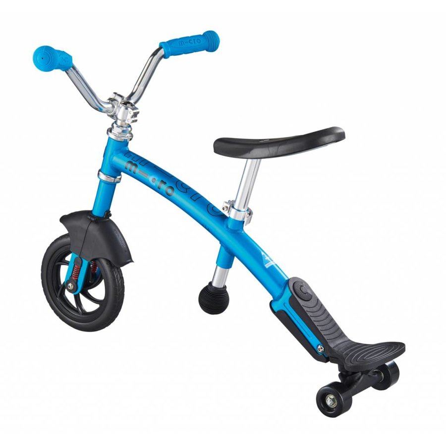 Micro Balance Bike G-bike Carver Deluxe 2in1 Blue