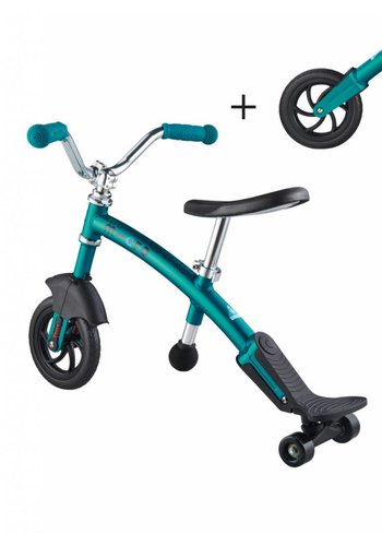 Micro Loopfiets Carver 2in1 aqua