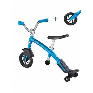 Micro Loopfiets G-bike Carver Deluxe 2in1 blauw