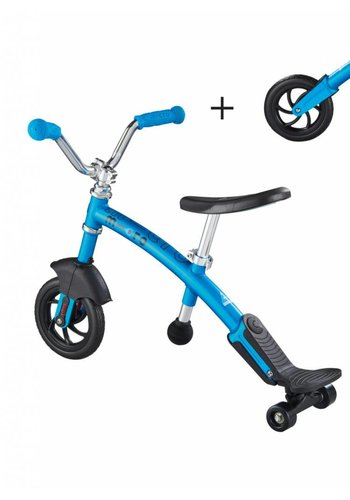 Micro Balance Bike Carver 2in1 Blue