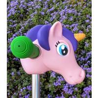 Scootaheadz eenhoorn paars/roze