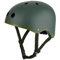 Maxi Micro Metallic legergroene step + helm