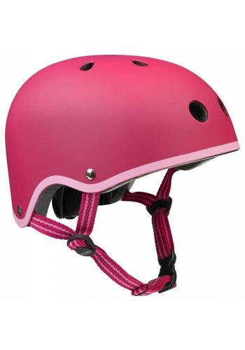 Micro helmet matt raspberry