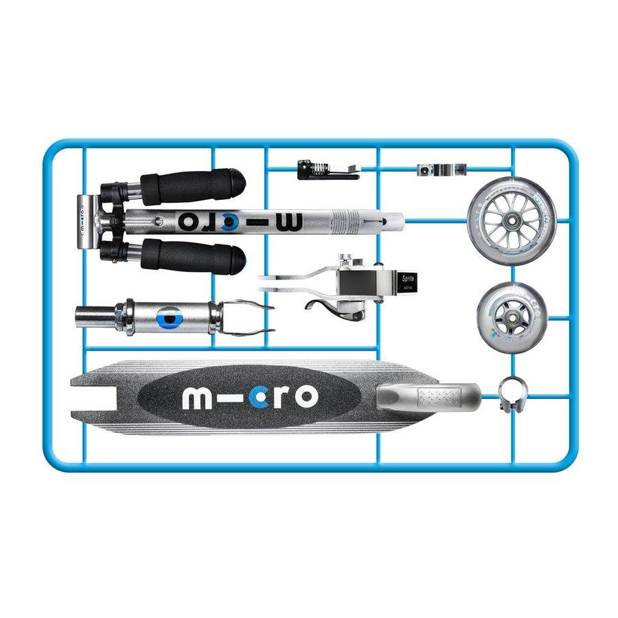 Micro Sprite zilver classic zelfbouw kit