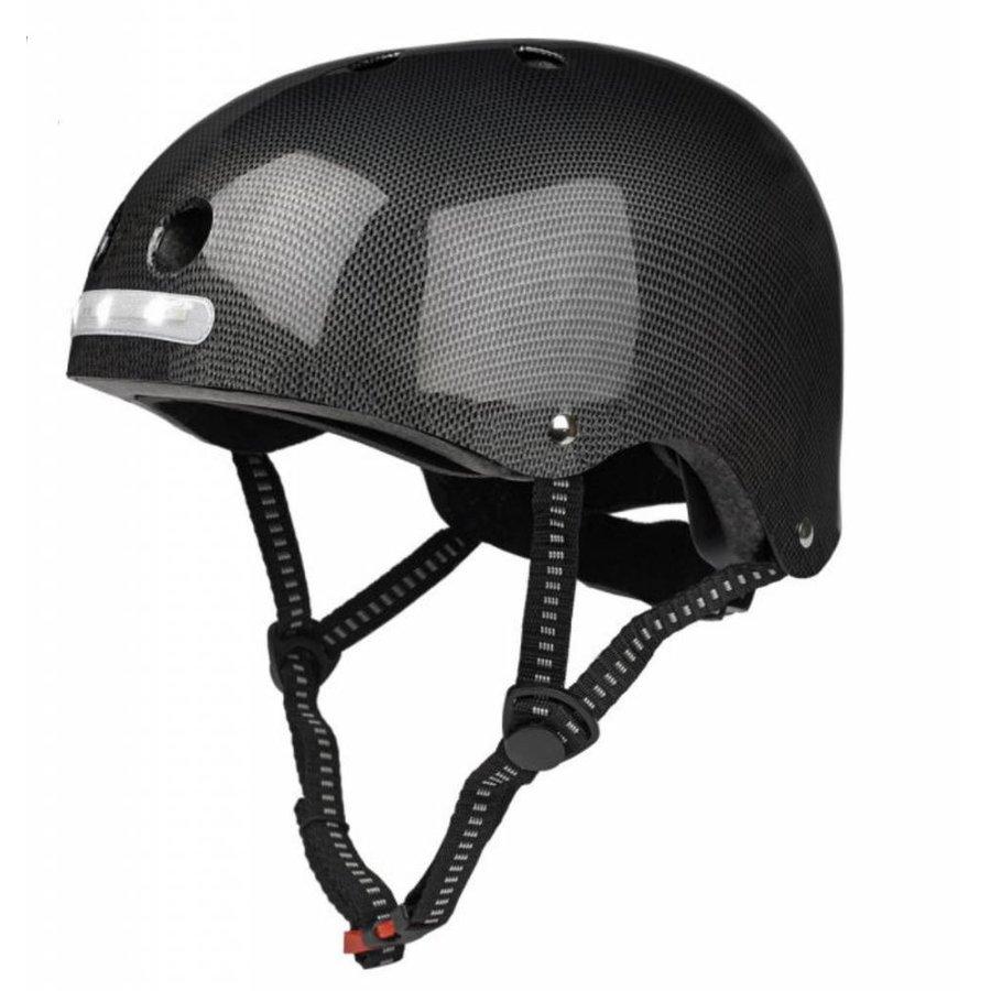 Micro helm met geïntegreerde LED verlichting