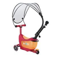 Micro Mini2go Deluxe Push Canopy robijn rood