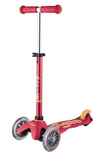 Mini Micro scooter Deluxe Ruby Red
