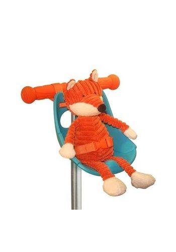 Scootaseatz doll seat aqua